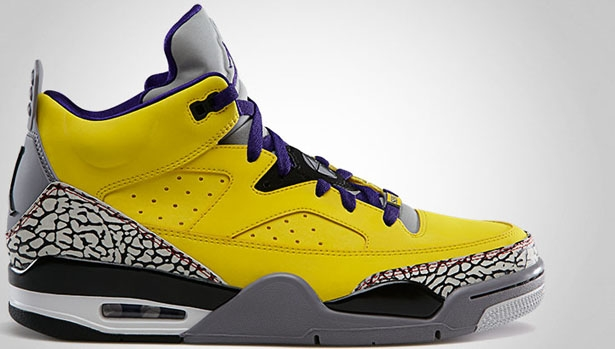 Jordan Son Of Mars Low Tour Yellow/Grape Ice-Cement Grey-Black-White