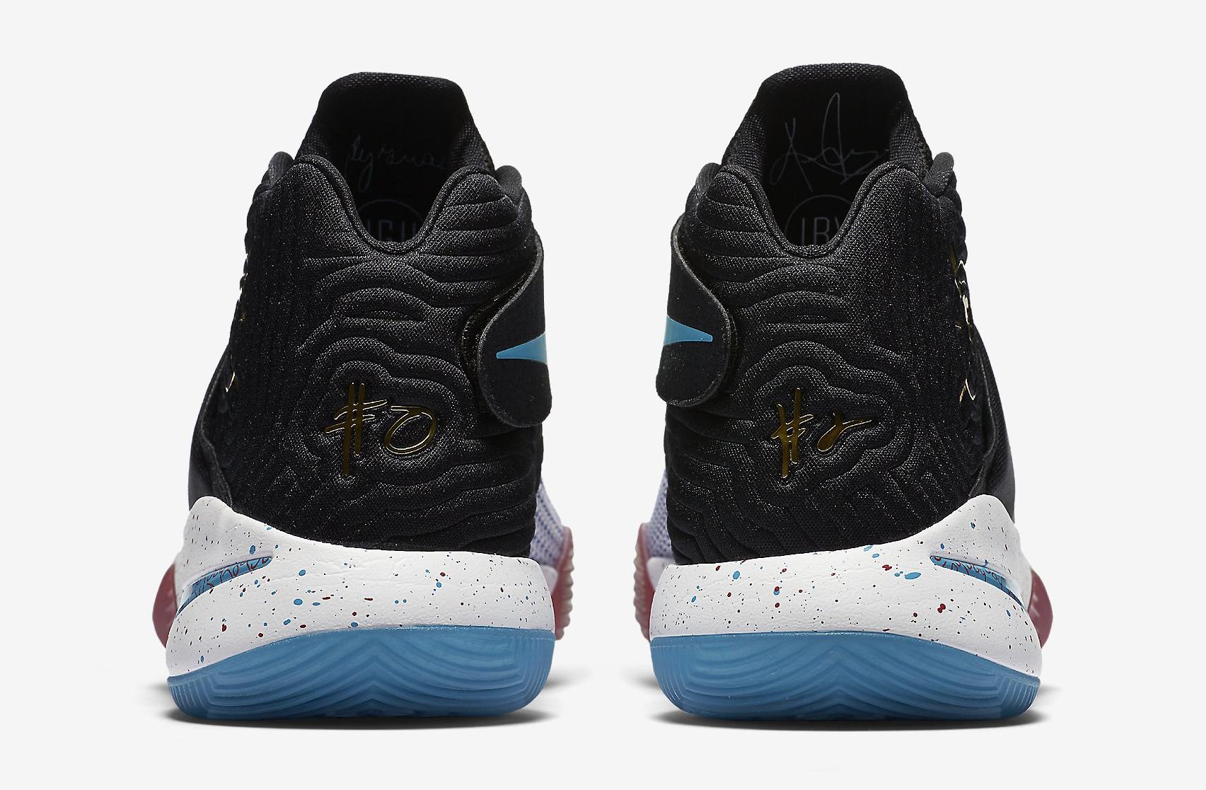 Nike Kyrie 2 Doernbecher 898641-001 Heel