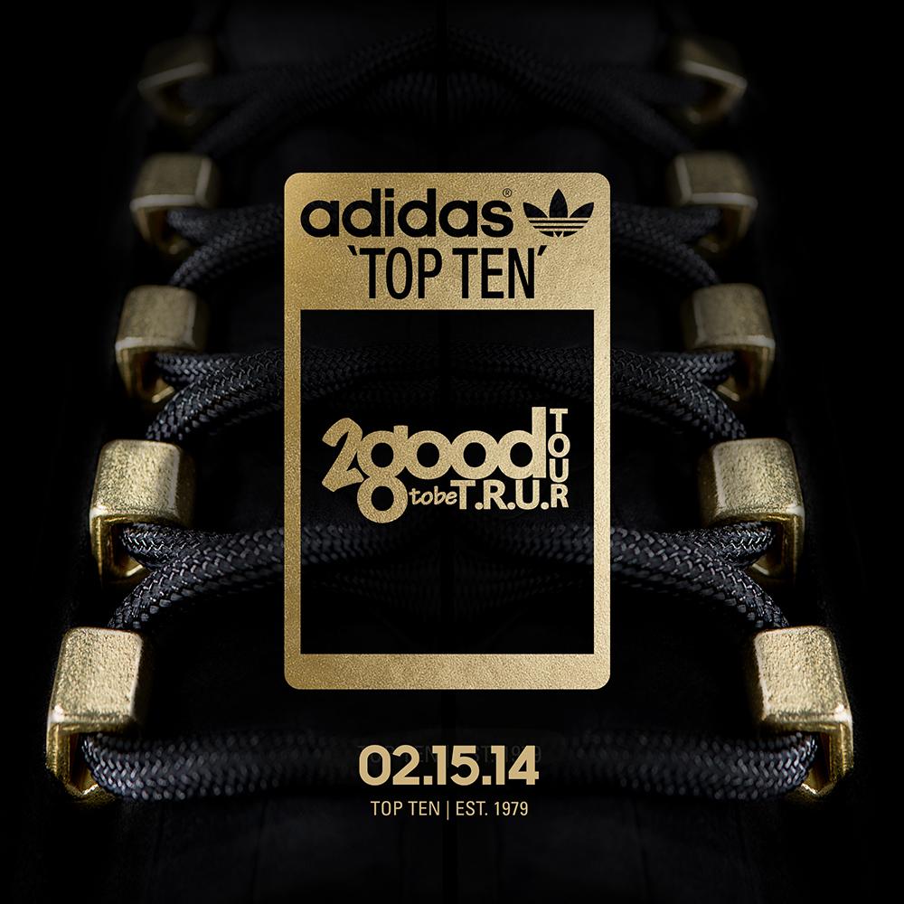 more photos 46335 f7d09 ... 2 Chainz x adidas Originals Top Ten 2 Good 2 Be T.R.U. Teaser  attractive price 8535e ...