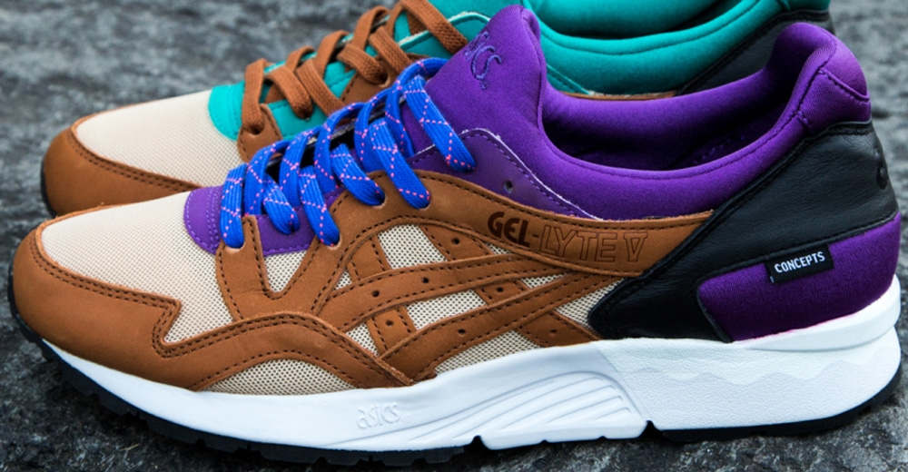 Concepts x Asics Gel-Lyte V Mix & Match Purple