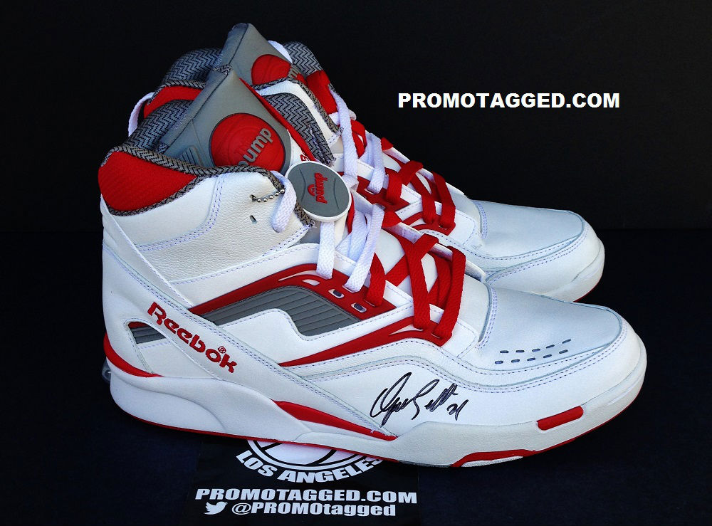 Spotlight // Pickups of the Week 8.4.13 - Reebok Pump Twilight Zone Dominique Wilkins Autographed by PROMOTAGGED