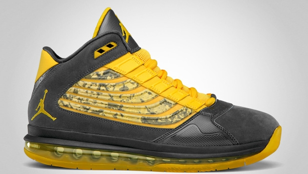 Jordan Big Ups Anthracite/Varsity Maize