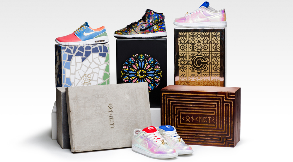 watch c731a 8c18f Concepts Nike SB Holy Grail Collection