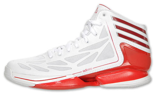 competitive price a5762 14401 adidas adiZero Crazy Light 2 White Red G59422 (1)
