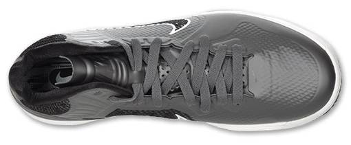 Nike Lunar Hypergamer Grey Black White 469756-009 5