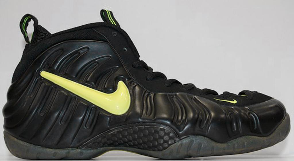 Nike Air Foamposite Pro Black White Yellow