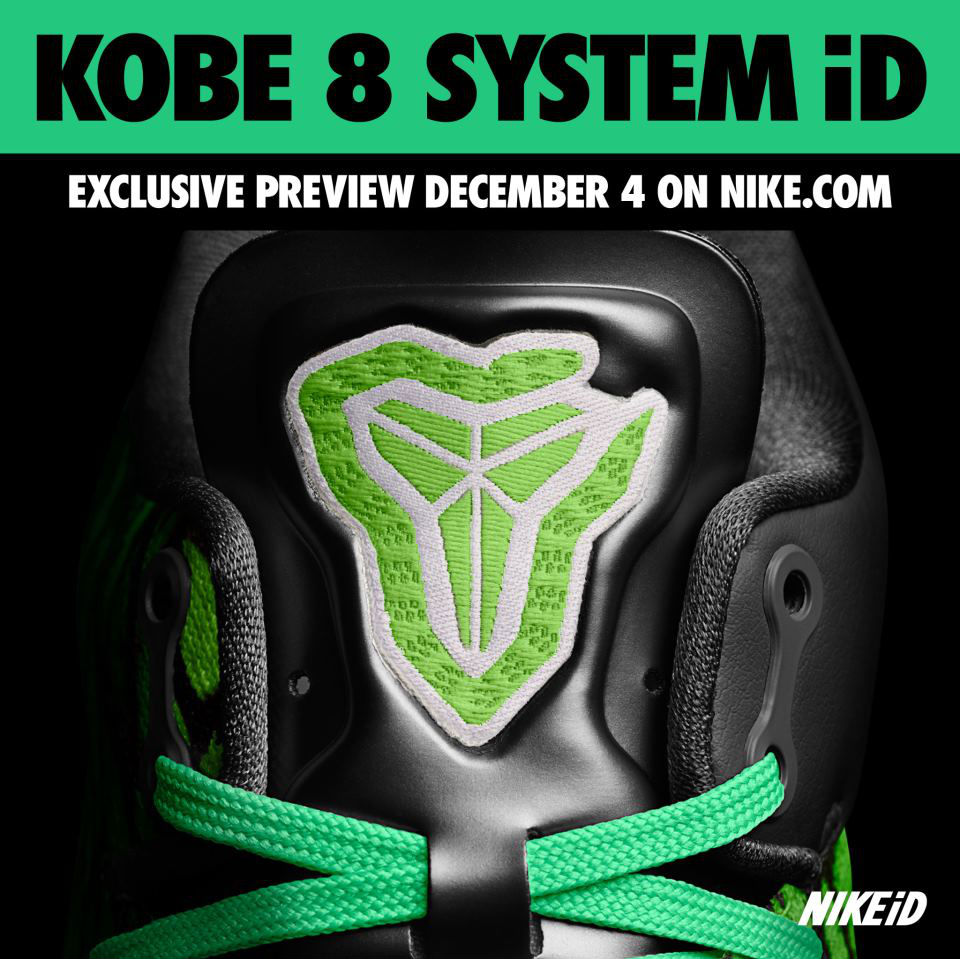 Nike Kobe 8 System iD Preview