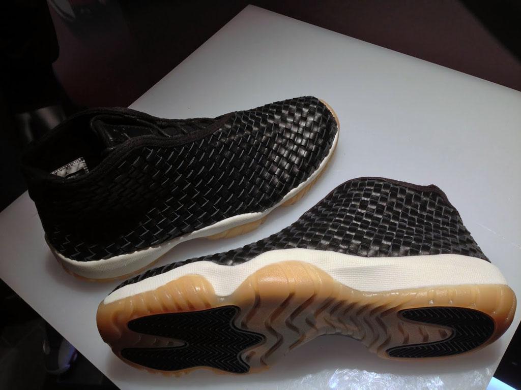 d7971dc5c10f Air Jordan Future Premium Black Leather   Gum Sole (2)