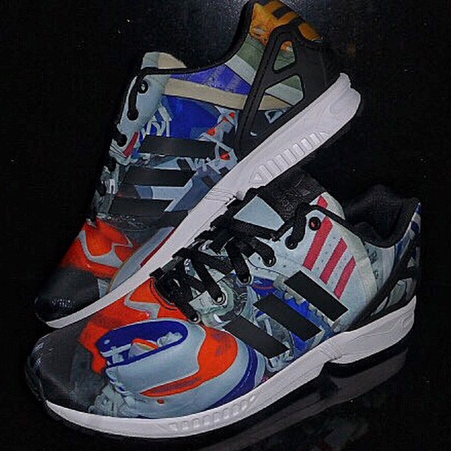 DJ Clark Kent Picks Up adidas ZX Flux A Bunch of Stripes