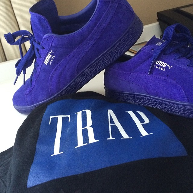 Trinidad James Picks Up PUMA Suede