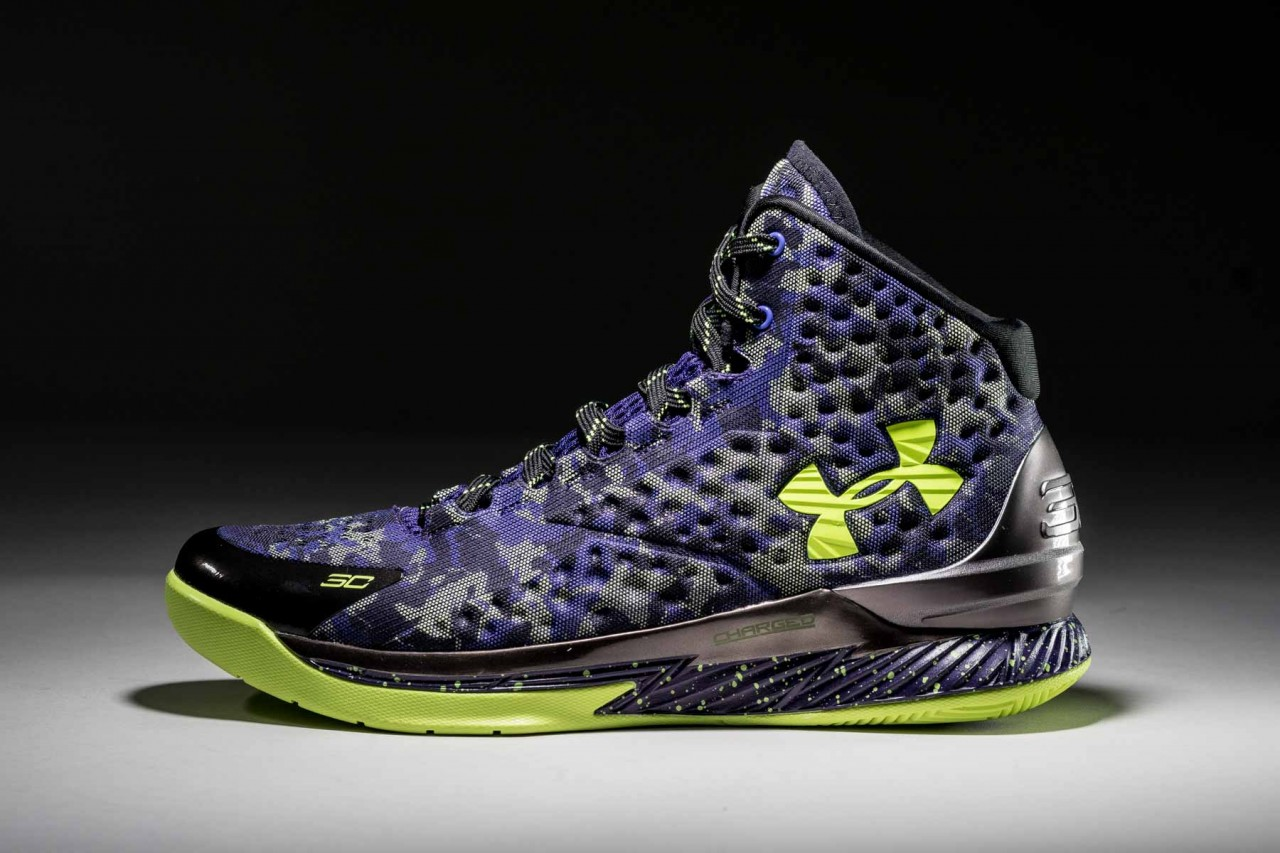 4e4a64ef0eec Steph Curry and Under Armour Channel Dark Matter for All-Star Shoe