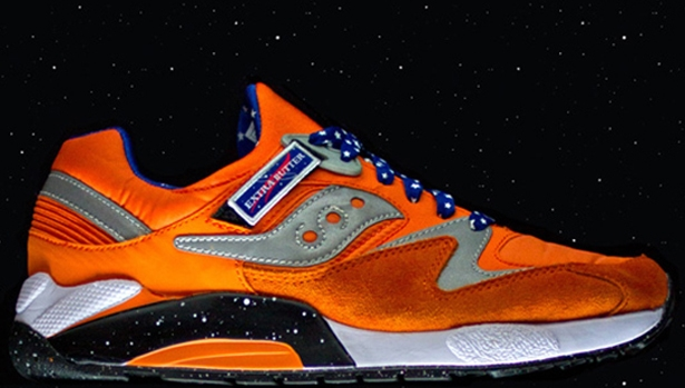 Saucony Grid 9000 Orange/Blue