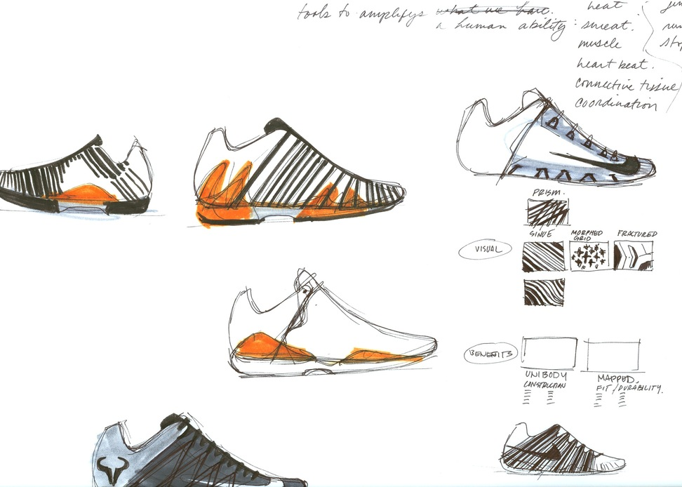 Take a first look at the Lunar Ballistec along with a few design sketches  below, and expect the speedy new creation from Nike Tennis to be available  ...