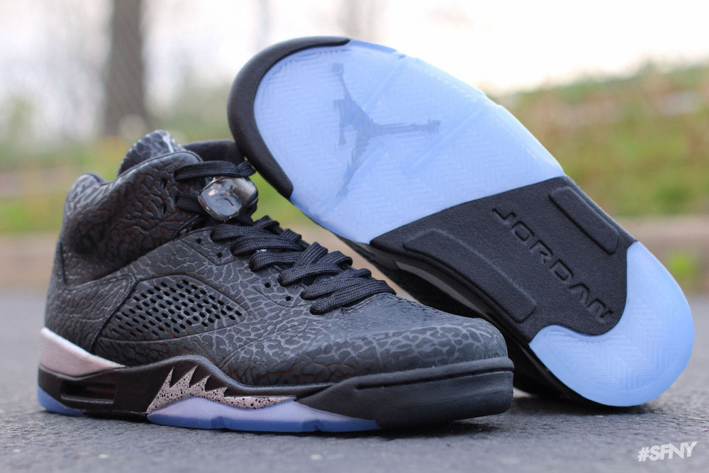 online store 49eb5 08084 Air Jordan 3Lab5 'Black Metallic' | Sole Collector