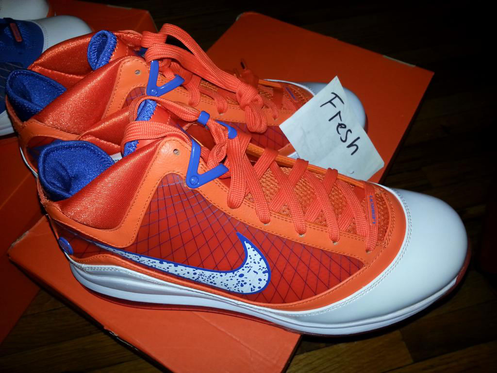Spotlight // Pickups of the Week 6.2.13 - Nike LeBron VII HWC Orange by Fresh iz back 23 23