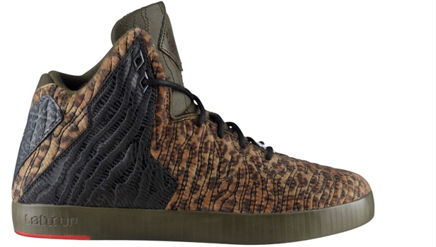 Nike LeBron XI NSW Lifestyle Dark Loden/Dark Loden-Black-University Red