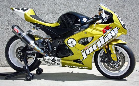 Michael Jordan Motorsports Bikes Being Auctioned Off