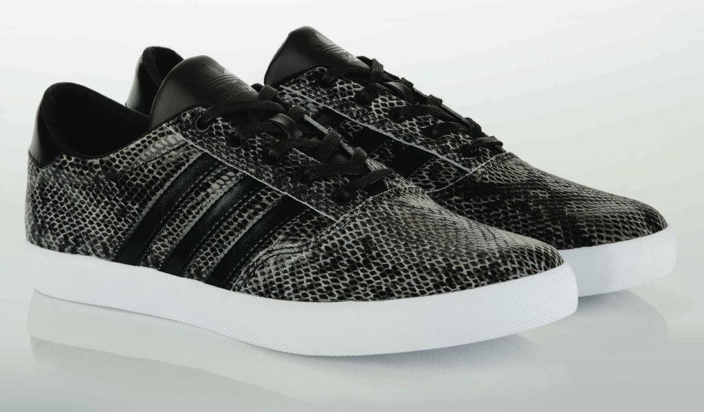 on sale 0515b 0f0ea adidas Originals Adi MC Low Snakeskin Black (7)