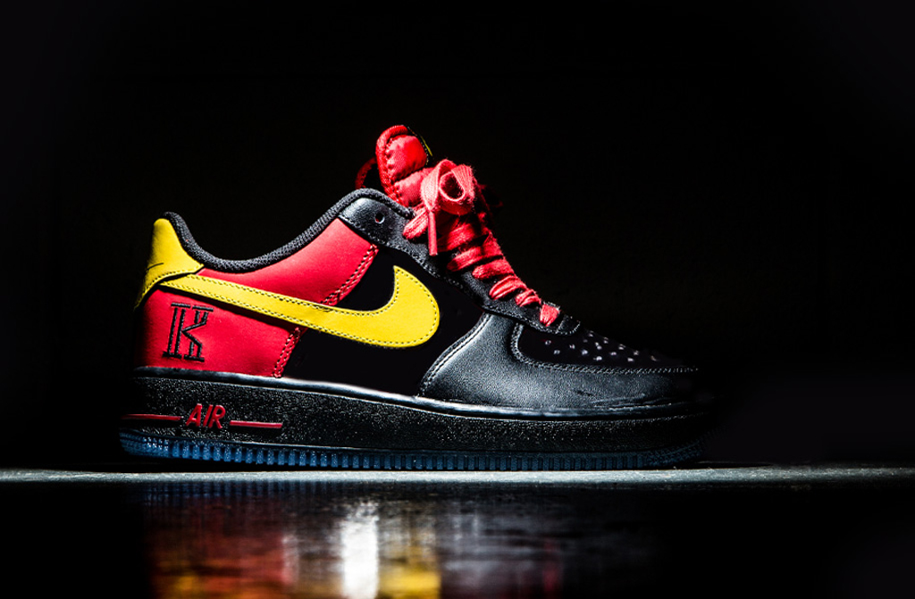first rate ee5af fcf33 Release Date: Nike Air Force 1 Low CMFT Signature 'Kyrie ...