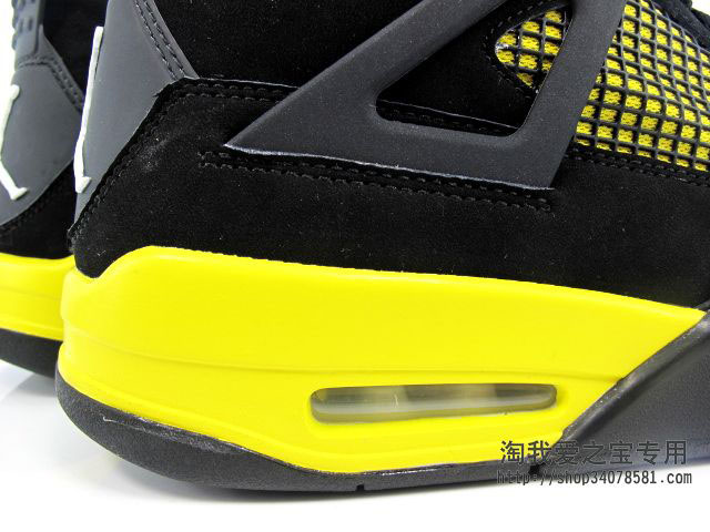 Air Jordan IV 4 Thunder 308497-008 (10)