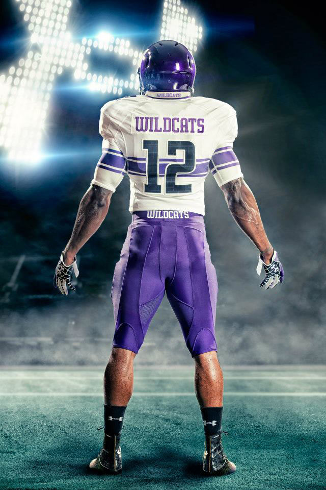 Under Armour Northwestern Football Uniforms Away (2)