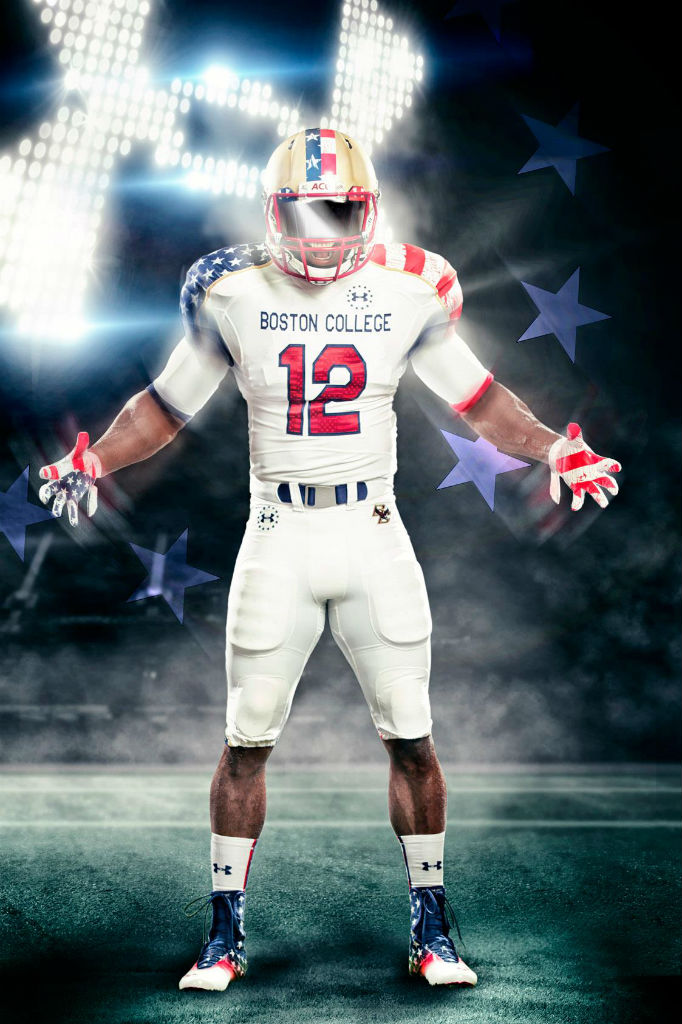 Boston College Under Armour Wounded Warriors Freedom Uniforms (1)