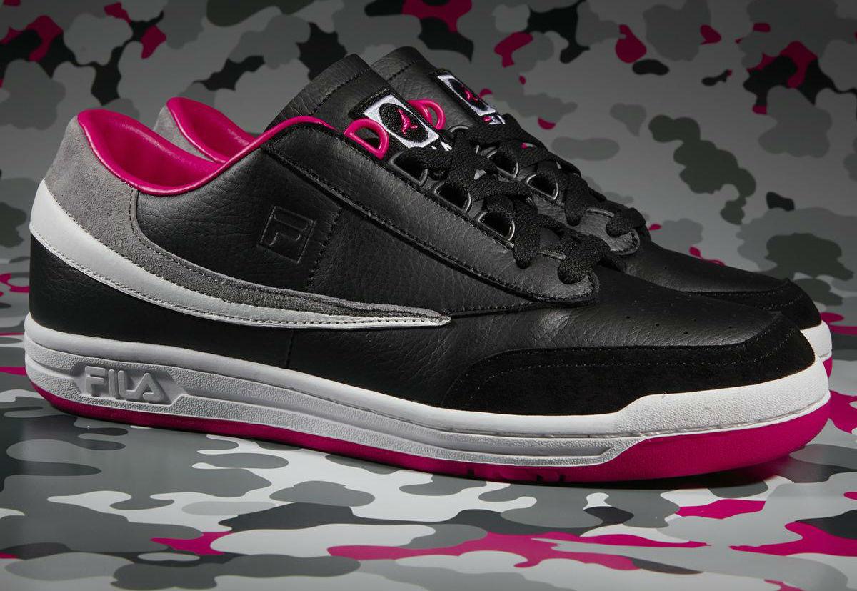 low priced 8ea02 5a205 Staple x FILA Original Tennis Black Side