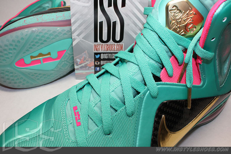 san francisco b2259 26412 Nike LeBron 9 PS Elite  South Beach  MVP Sample (4)