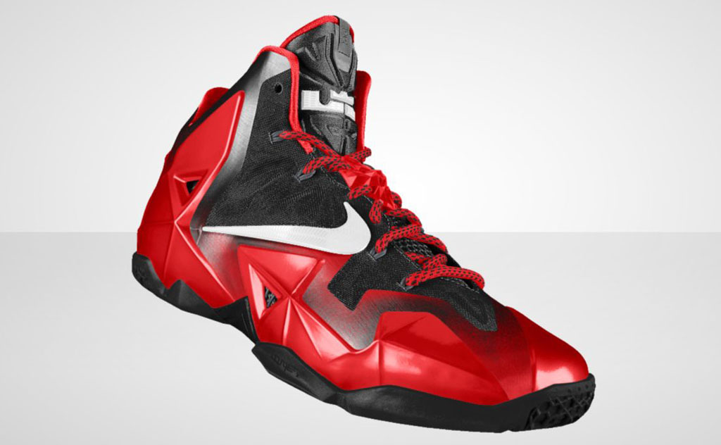 NIKEiD LeBron 11 'Forging Iron' Option (1)