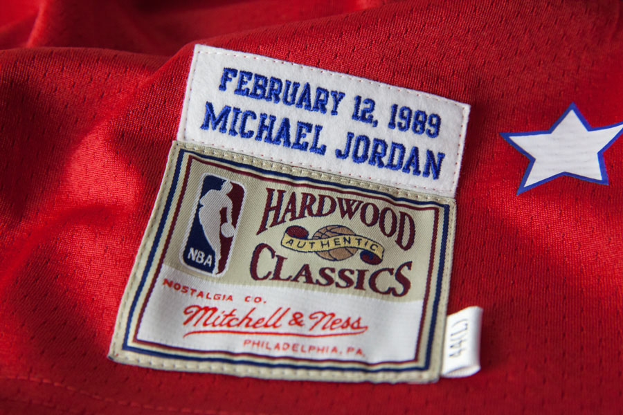 best website c0d0a 38e19 Mitchell & Ness Releasing Michael Jordan's 1989 All-Star ...