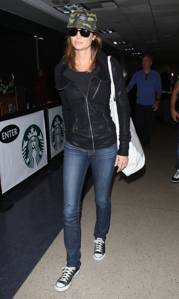 Stacy Keibler wearing Converse Chuck Taylor All Star