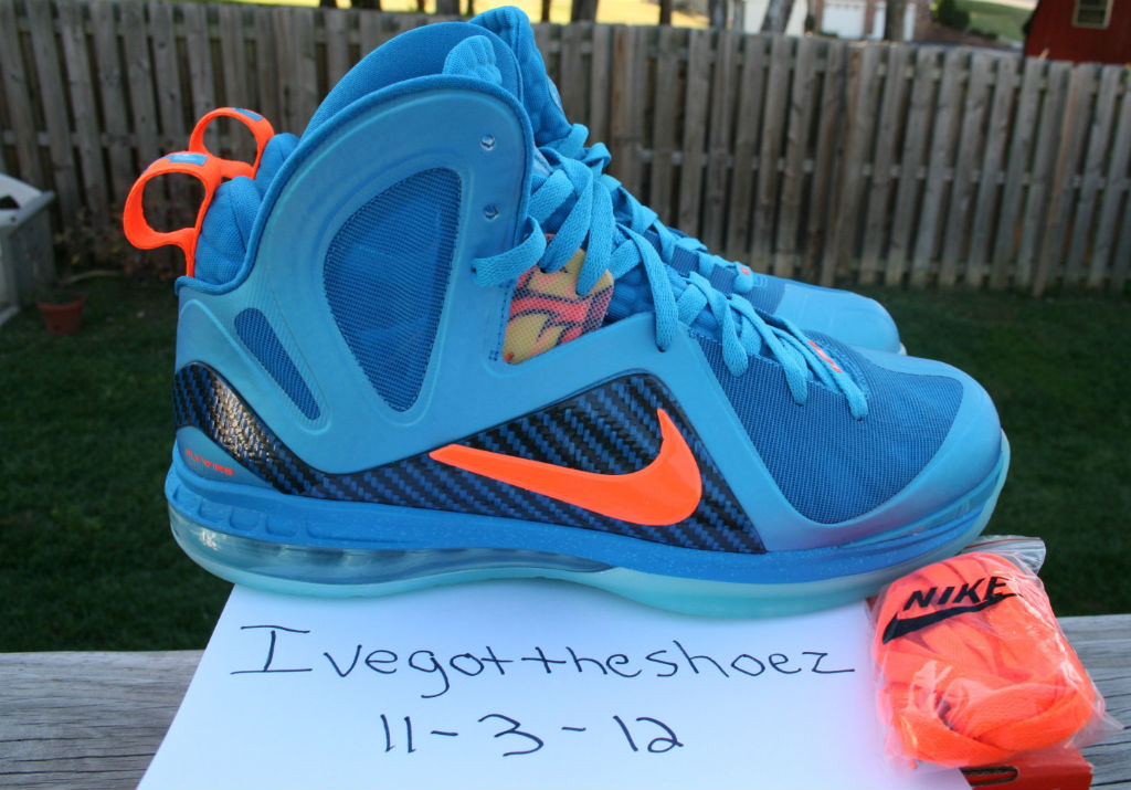 Nike LeBron 9 P.S. Elite China Blue Flame (1)