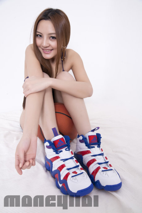 Girl Models Several Colorways of the adidas Crazy 8