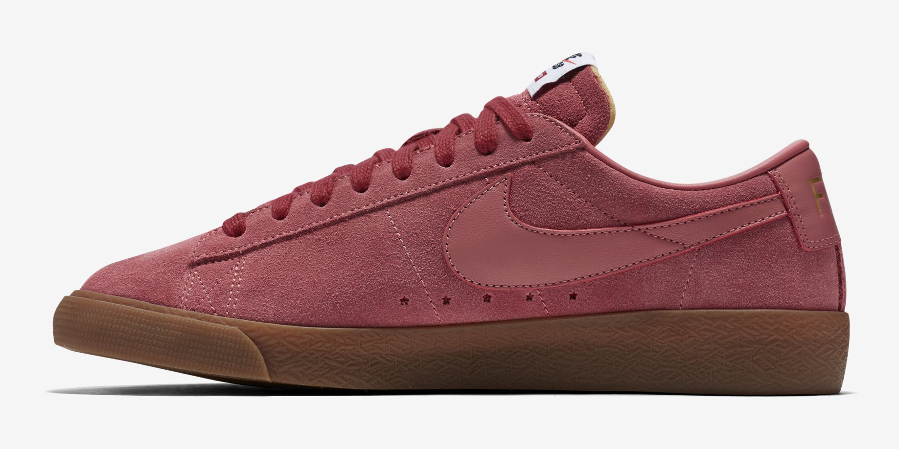 Supreme Nike Sb Blazer Low 716890 669 Pink Medial