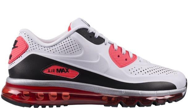 Nike Air Max '90 2014 White/White-Infrared-Black