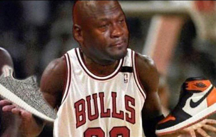 20 Times Michael Jordan Cried Over Sneakers This Year | Sole Collector