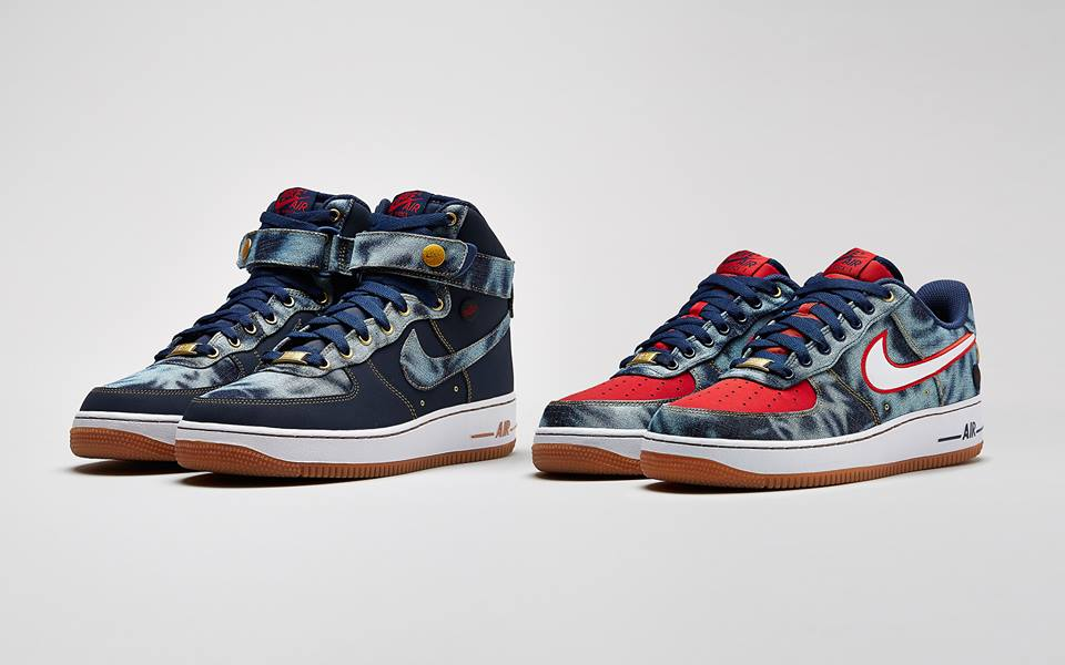 Nike Sportswear Air Force 1  Denim  Pack  fa31107f9f