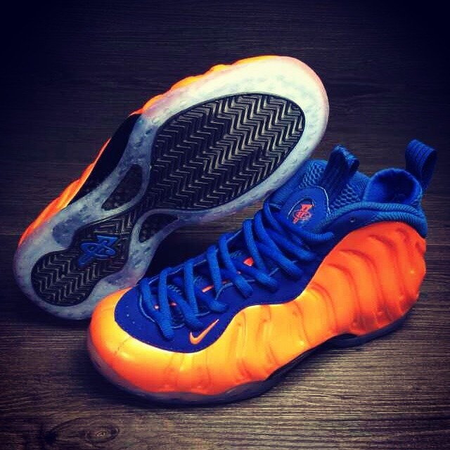 reputable site 8ba4a 78c1e Nike Air Foamposite One Knicks (1)