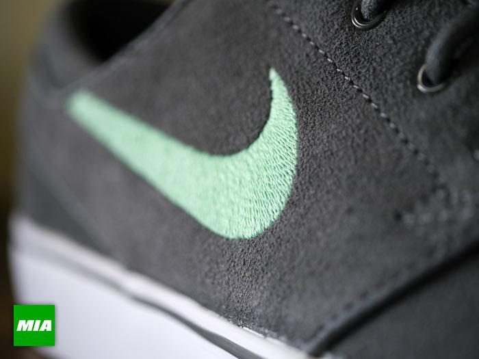 Nike Zoom Stefan Janoski - Dark Grey/Medium Mint