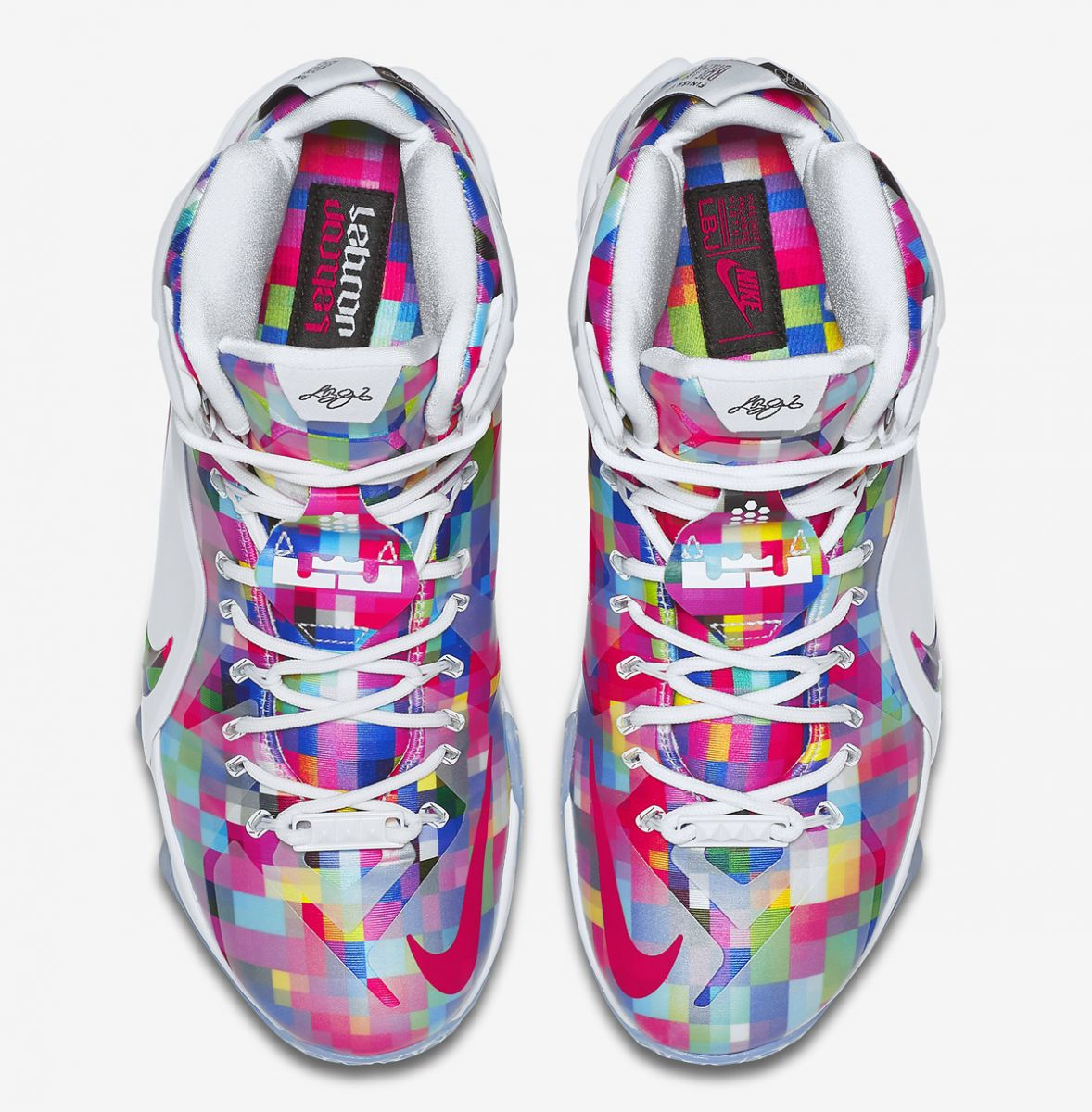 52ac5dd9e3d The Nike LeBron 12's Take on 'Fruity Pebbles' | Sole Collector