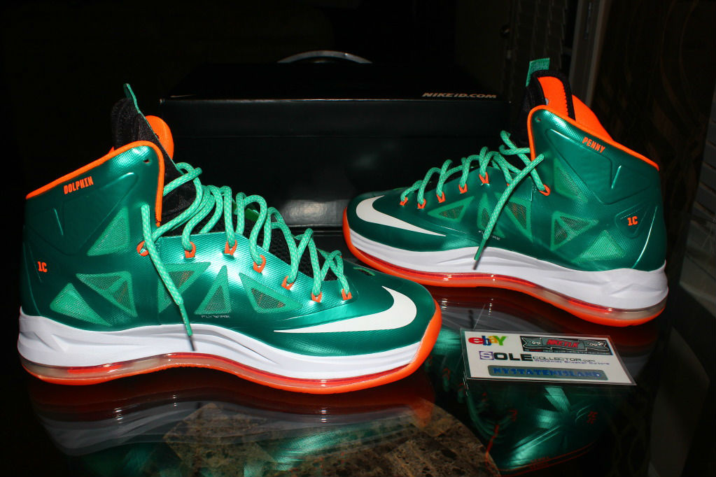 info for b3063 847a6 Nike Lebron X iD Miami Dolphins by nystatenisland (5)