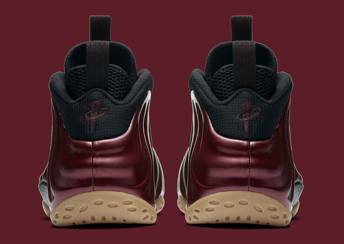 on sale 31603 85c63 Nike Air Foamposite One Maroon Heel 314996-601