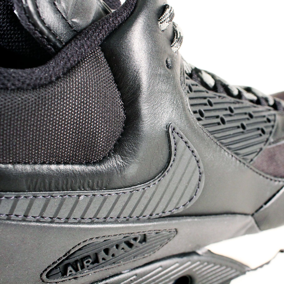 Nike Air Max 90 Sneakerboot Black/Magnet Grey 684714-001 (4)