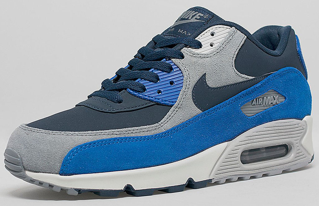 info for f7d7b c43be Nike Air Max 90 - Obsidian/Grey-Blue | Sole Collector