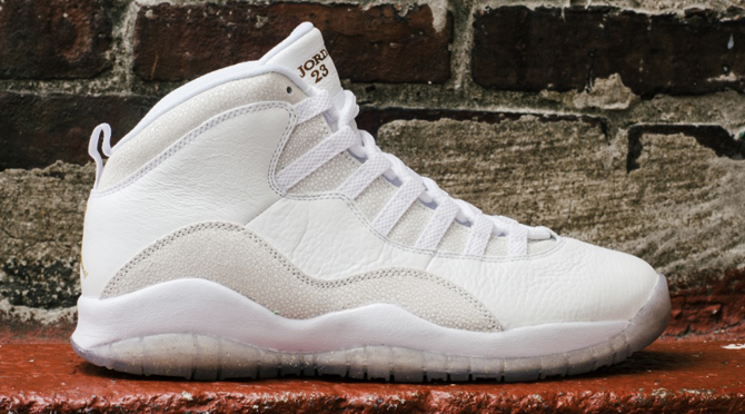 OVO Air Jordan 10 Drake White
