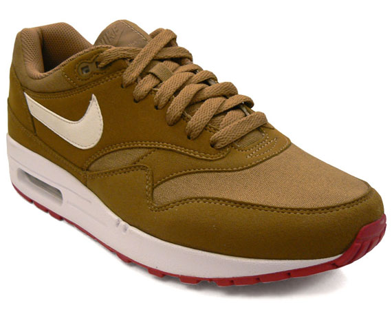 Nike Air Max 1 Brown KelpRed White Eneste samler  Sole Collector