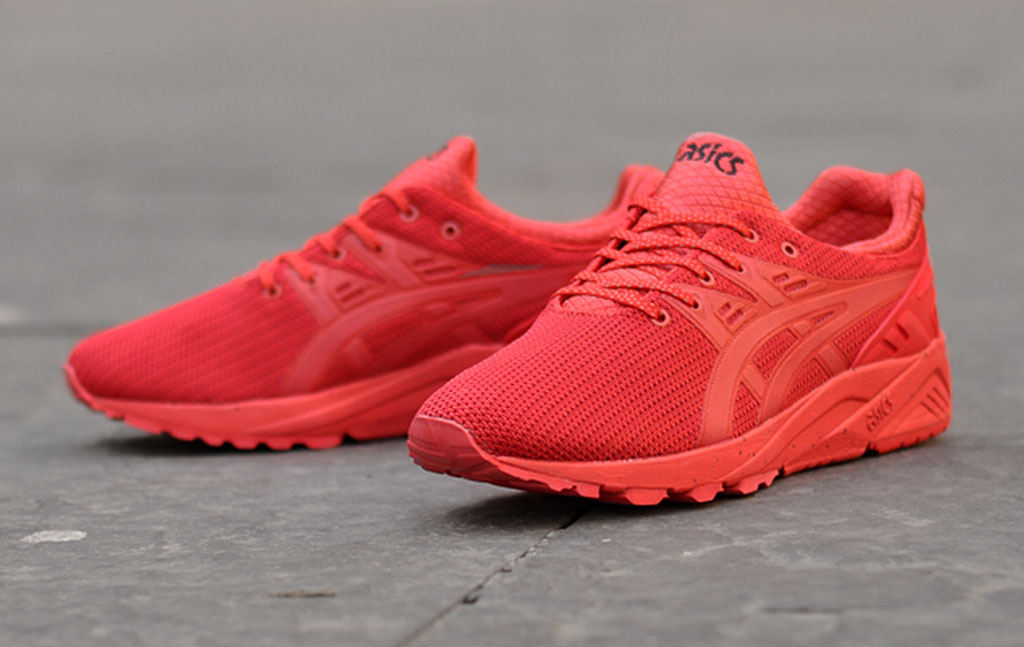 Asics Gel Kayano EVO Red Winter Tech (1)