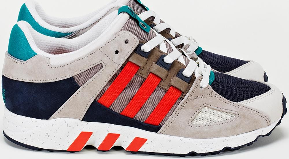 adidas Consortium EQT Guidance '93 Grey/Navy-Red