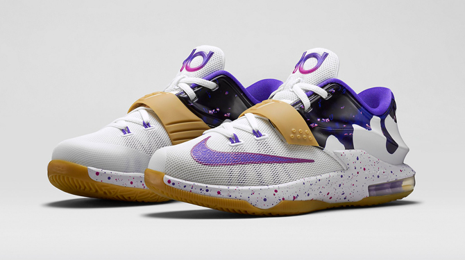 2ebd794e3eab Nike KD 7  Peanut Butter and Jelly  Releasing Tomorrow. Kevin Durant s  latest signature shoe is revisiting the