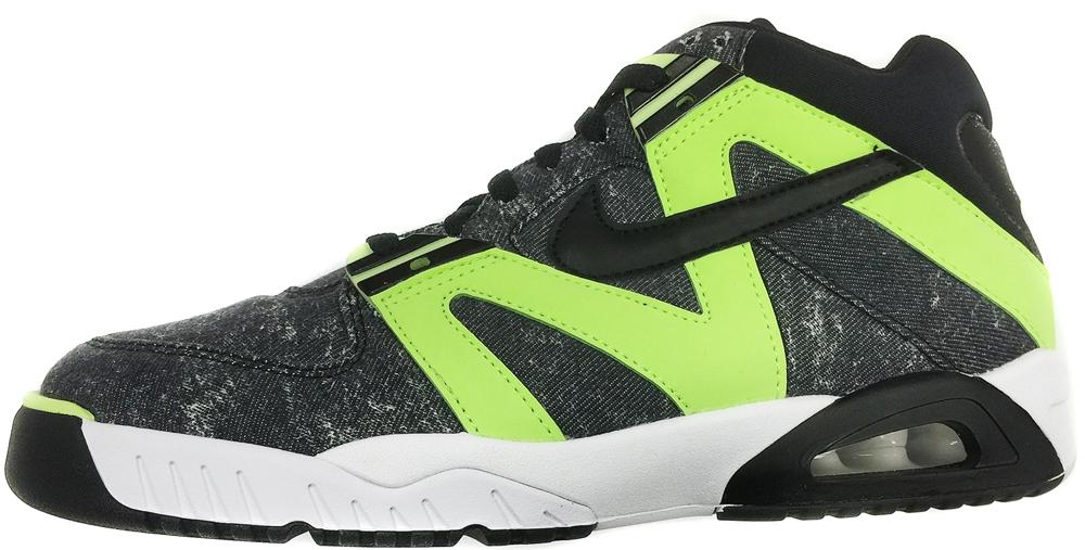 Nike Air Tech Challenge III Black/White-Radiant Green
